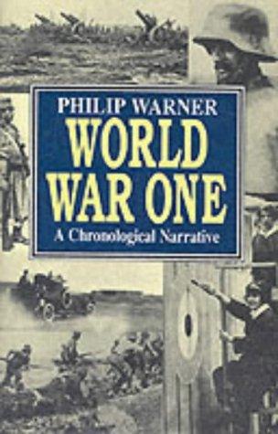 9781860198465: World War One a Chronological Narrative