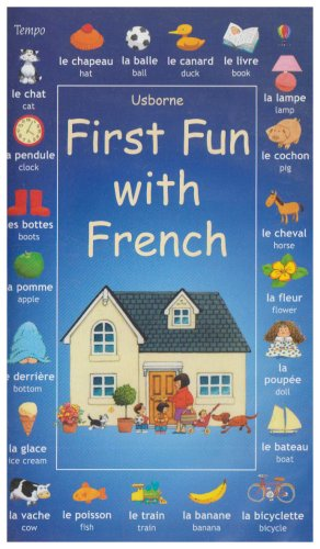 9781860223150: First Fun with French (Usborne) [VHS]