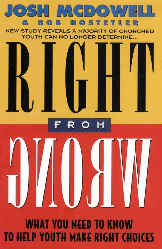 9781860240140: Right from Wrong: What You Need to Know to Help Youth Make Right Choices
