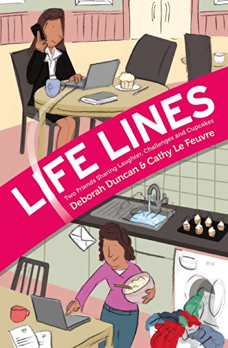 Life Lines: Two Friends Sharing Laughter, Challenges and Cupcakes