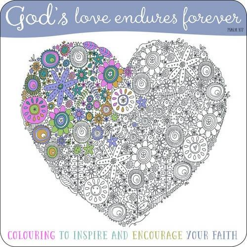 9781860249778: Adult Coloring Book: God's Love Endures Forever: Inspirational Colouring Book