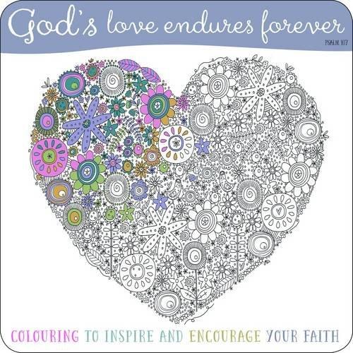 9781860249778: Adult Coloring Book: God's Love Endures Forever