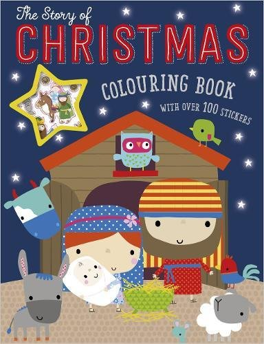 The Story of Christmas Colouring Book (With
