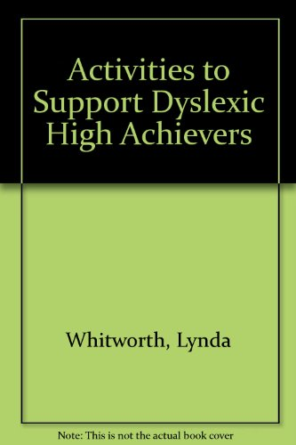 9781860252846: Activities to Support Dyslexic High Achievers