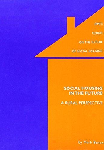 Social Housing a Rural Perspective (186030124X) by Mark Bevan