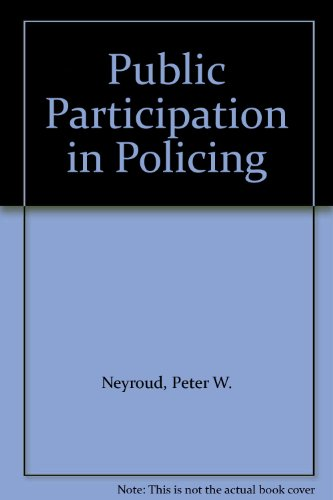 9781860301490: Public Participation in Policing