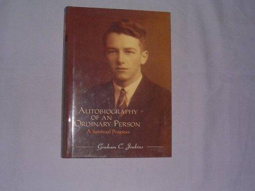 9781860334139: Autobiography of an Ordinary Person: A Spiritual Progress