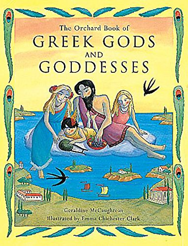 9781860391095: The Orchard Book of Greek Gods and Goddesses