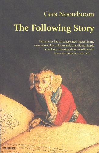 9781860461477: The Following Story (Harvill Panther)