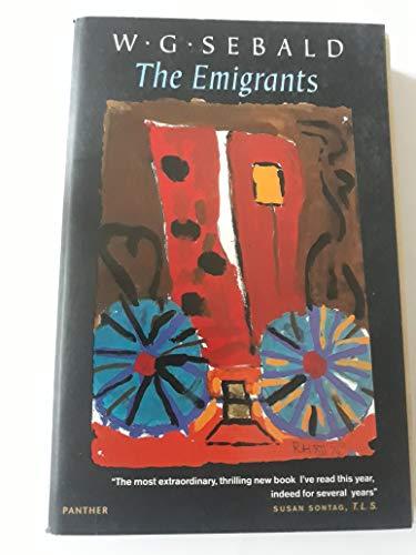 The Emigrants (Roman): W G Sebald