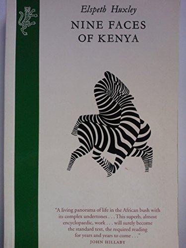 9781860464072: Nine Faces of Kenya