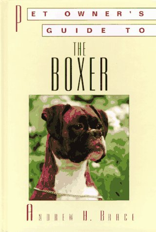 9781860540653: BOXER (Pet Owner's Guide)