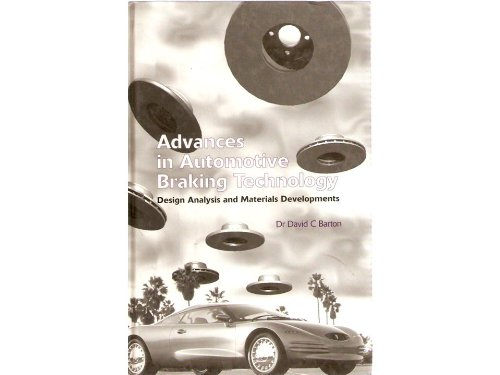 9781860580390: Advances in Automotive Braking Technology: Design Analysis and Materials Developments