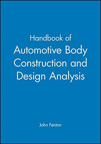 9781860580734: Handbook of Automotive Body Construction and Design Analysis