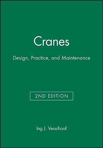 9781860583735: Cranes: Design, Practice, and Maintenance