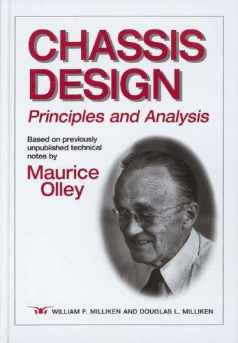 9781860583896: Chassis Design: Principles And Analysis