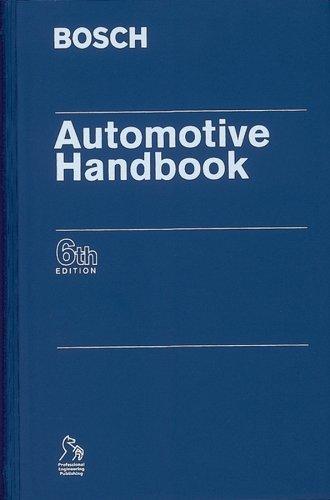 BOSCH Automotive Handbook (Bosch Handbooks (REP)): Robert Bosch GmbH