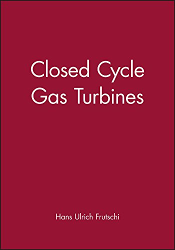 9781860584800: Closed Cycle Gas Turbines