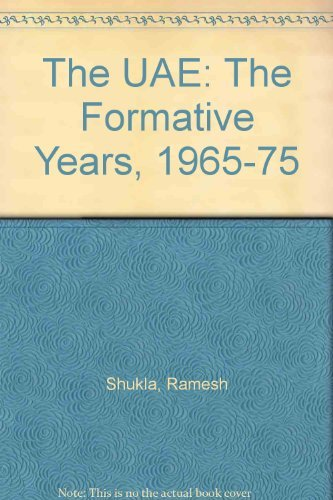 9781860630750: The UAE: The Formative Years, 1965-75