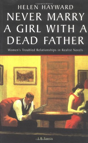 Never Marry A Girl With A Dead Father : Hysteria in the 19th Century Novel: Helen Hayward