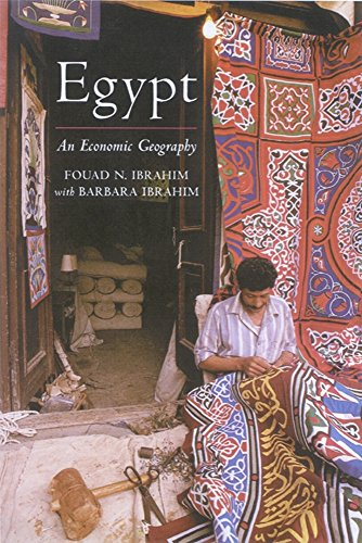 9781860645471: Egypt: An Economic Geography (International Library of Human Geography)