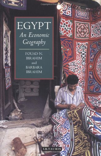 9781860645488: Egypt: An Economic Geography (International Library of Human Geography)