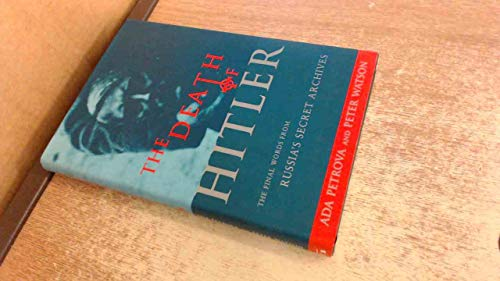 9781860660290: The death of Hitler: The final words from Russia's secret archives