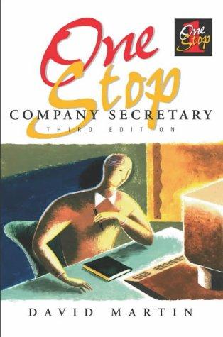 9781860721786: One Stop Company Secretary
