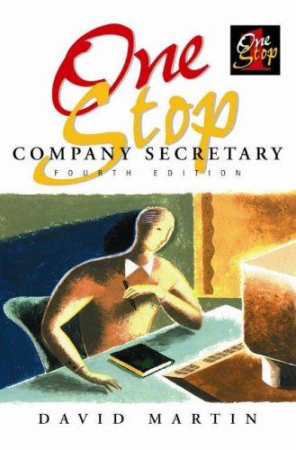 9781860722875: One Stop Company Secretary