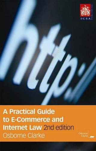 9781860723100: A Practical Guide To E-commerce and Internet Law