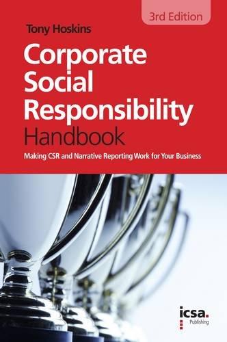 9781860724817: The Icsa Corporate Social Responsibility Handbook