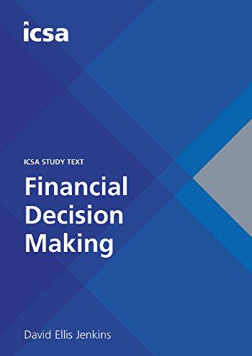 9781860724879: ICSA Study Text Financial Descision Making (CSQS)
