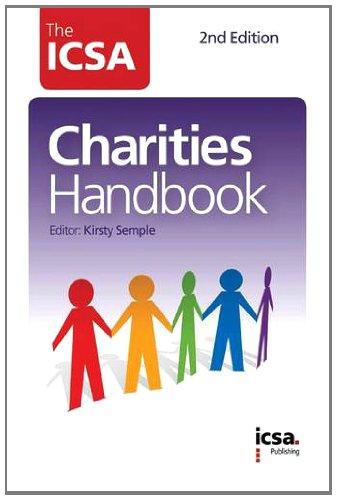 9781860724893: The ICSA Charities Handbook