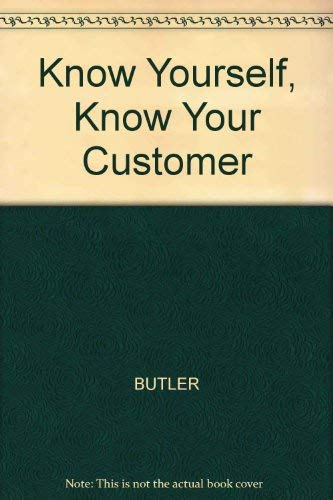 9781860762390: Know Yourself, Know Your Customer