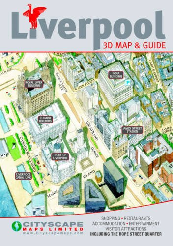 9781860800573: Liverpool: 3D Map & Guide of Liverpool City Centre Including Hope Street Quarter