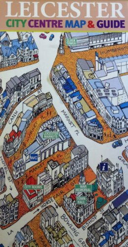 9781860800634: Leicester City Centre Map and Guide