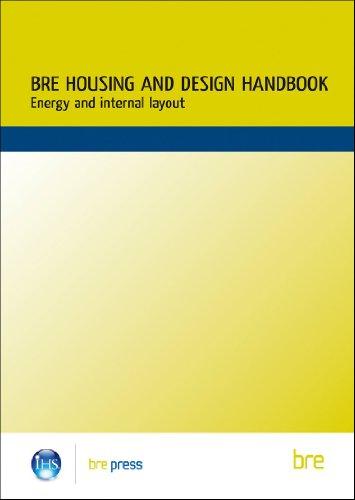 9781860811630: BRE Housing Design Handbook: Energy and Internal Layout (BR 253) (Building Research Establishment Report)
