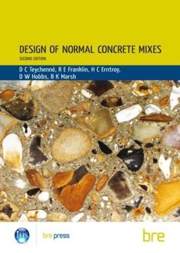 9781860811722: Design of Normal Concrete Mixes: (BR 331) (Ci/Sfb)