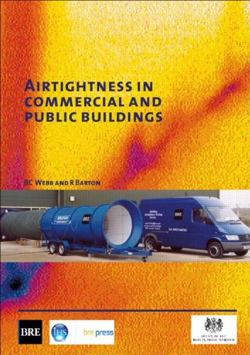 9781860815782: Airtightness in Commercial and Public Buildings: (BR 448) (Building Research)