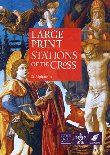Large Print Stations of the Cross (Large: St.Alphonsus