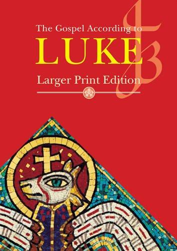 9781860826047: Larger Print Gospel of Luke (Scripture)