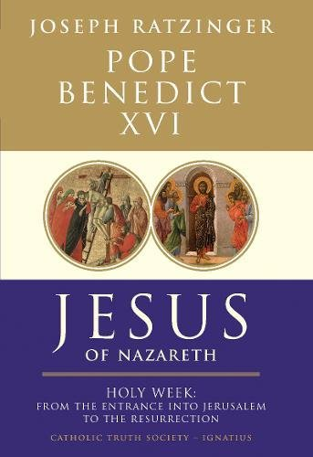 9781860827075: Jesus of Nazareth: Holy Week: From the Entrance Into Jerusalem to the Resurrection PT. 2