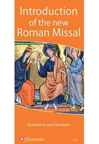 9781860827419: Introduction of the New Roman Missal - Questions and Answers