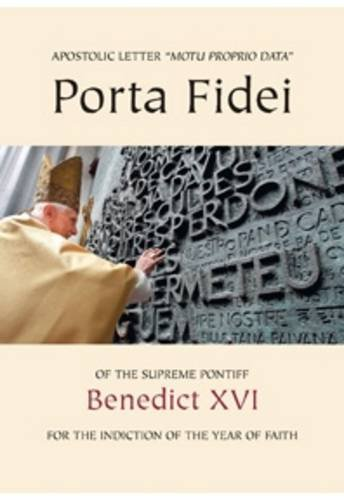 9781860827679: Porta Fidei - Gate of Faith: Apostolic Letter of the Supreme Pontiff for the Indiction of the Year of Faith (Vat Docs)