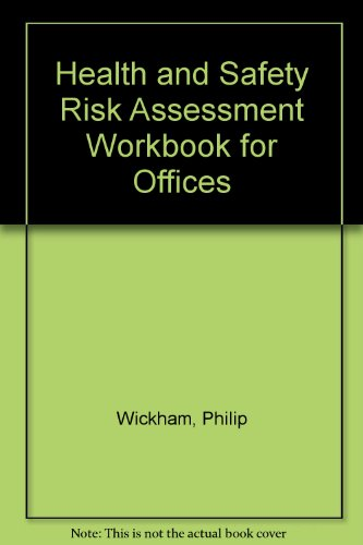 9781860898464: Health and Safety Risk Assessment Workbook for Offices