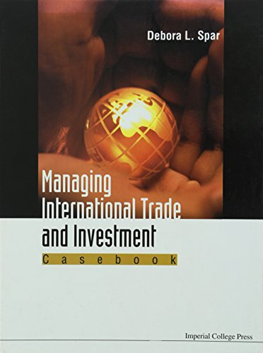 9781860942891: Managing International Trade and Investment: Casebook