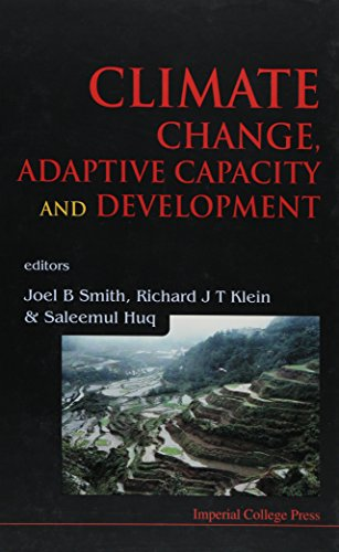 9781860943737: Climate Change, Adaptive Capacity and Development