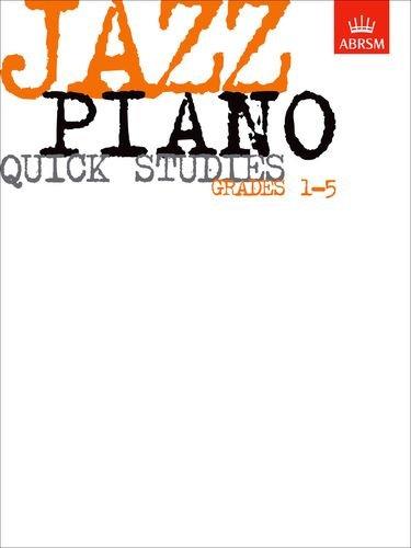 9781860960093: Jazz Piano Quick Studies, Grades 1-5 (ABRSM Exam Pieces)