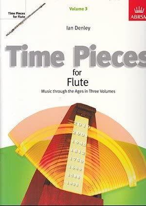 9781860960444: Time Pieces for Flute: v. 3