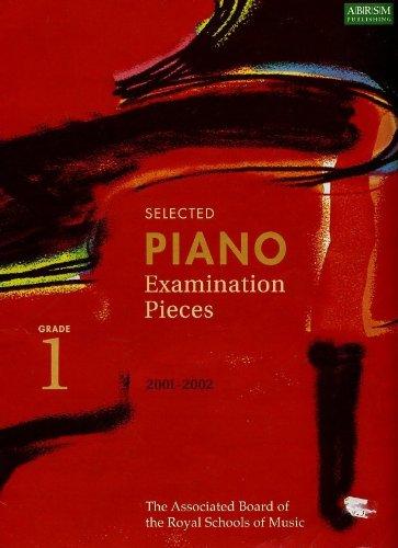 9781860961045: Piano Examination Pieces 2001-2002, Grade 1